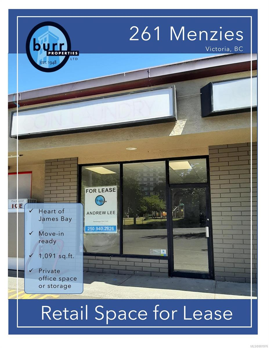 261 Menzies St - Vi James Bay Retail for sale(881976) - #1