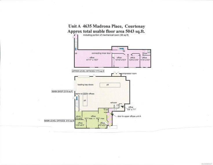 A 4635 Madrona Pl - CV Courtenay East Mixed Use for sale(885617)