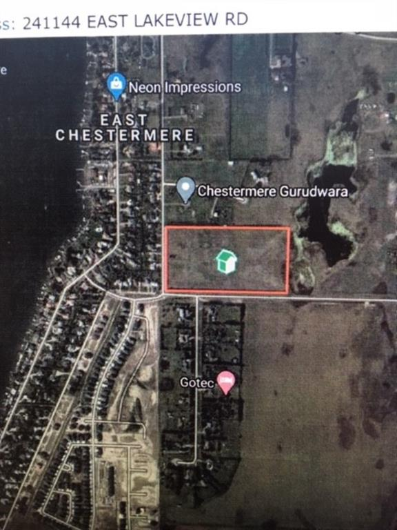 241144 EAST LAKEVIEW Road - East Chestermere Land for sale(A1022792)