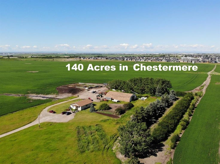 240249 Range Road 281 Road - East Chestermere Land for sale(A1045129)