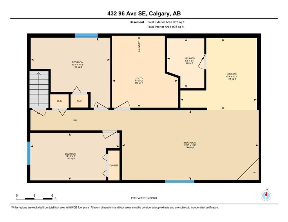 432 96 Avenue SE - Acadia Detached for sale, 4 Bedrooms (A1045467) - #33