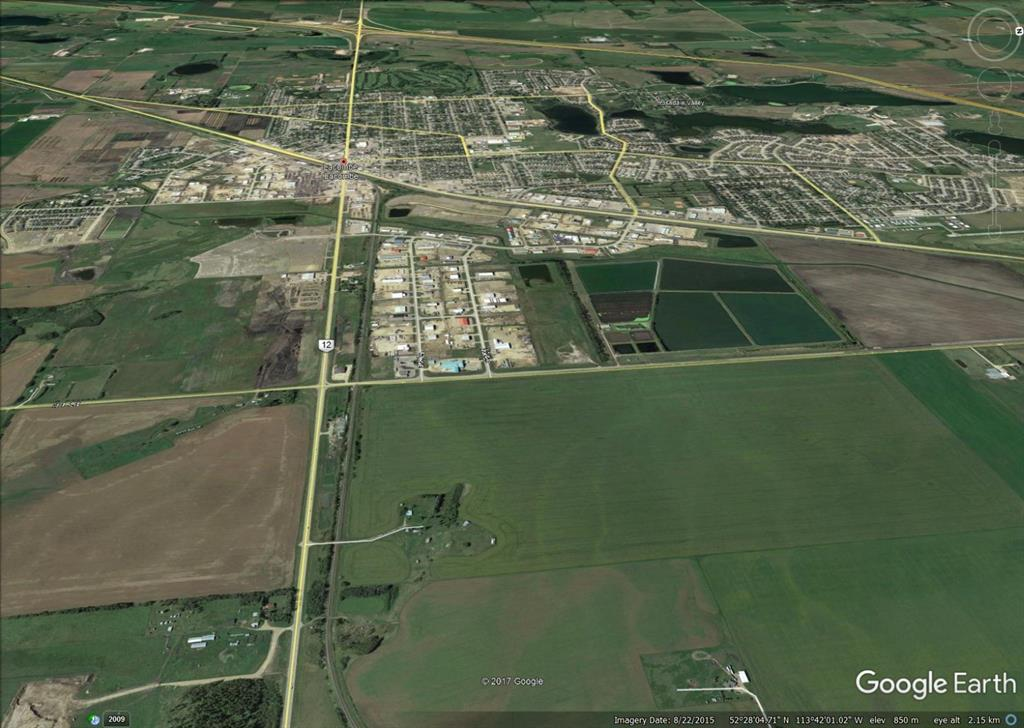 SW 28 40 26 W4 Highway 12  - Wolf Creek Industrial Park Industrial Land for sale(A1068693)