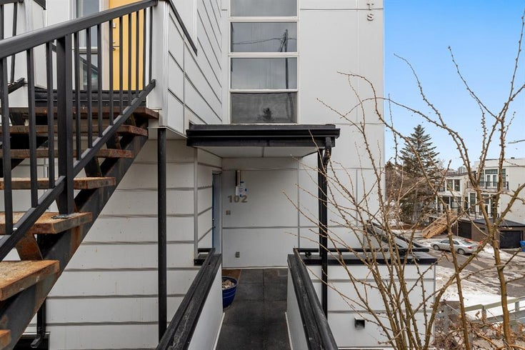 102, 1800 26 Avenue SW - Bankview Row/Townhouse for sale, 2 Bedrooms (A1120301)