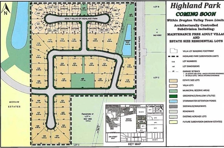 Highland Park - Drayton Valley Vacant Lot for sale(E4097386)