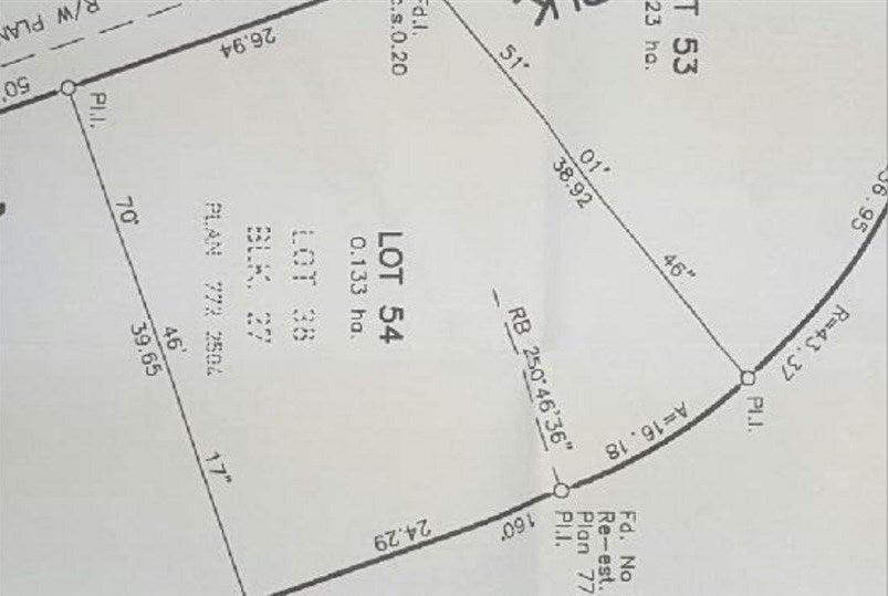 5822 44a Street - Vegreville Vacant Lot for sale(E4231084)