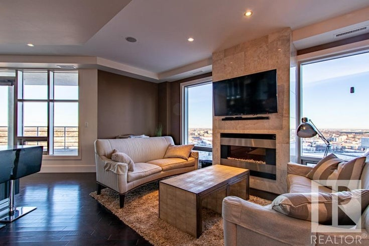 #2102 10388 105 ST NW - Downtown_EDMO Apartment High Rise for sale, 3 Bedrooms (E4265954)