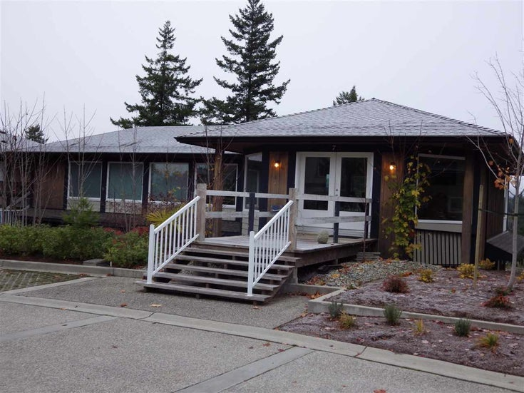 7 5778 MARINE WAY - Sechelt District Townhouse for sale, 1 Bedroom (R2222376)