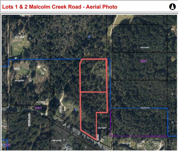 LOT 1 MALCOLM CREEK ROAD - Roberts Creek  for sale(R2373274)