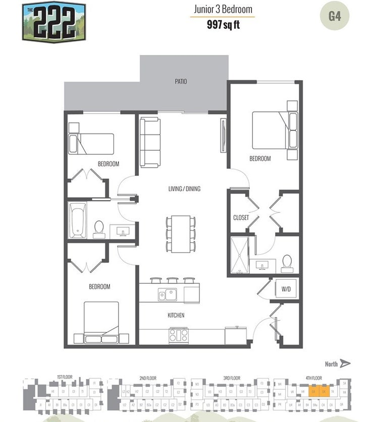 PH11 12320 222 STREET - West Central Apartment/Condo for sale, 3 Bedrooms (R2388243)