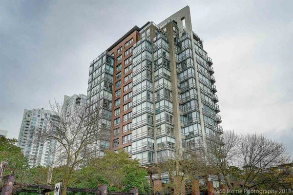 2B 139 DRAKE STREET - Yaletown Apartment/Condo for sale, 2 Bedrooms (R2401777)
