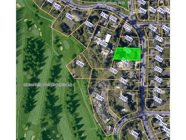 2250 SW MARINE DRIVE - Southlands  for sale(R2410014)