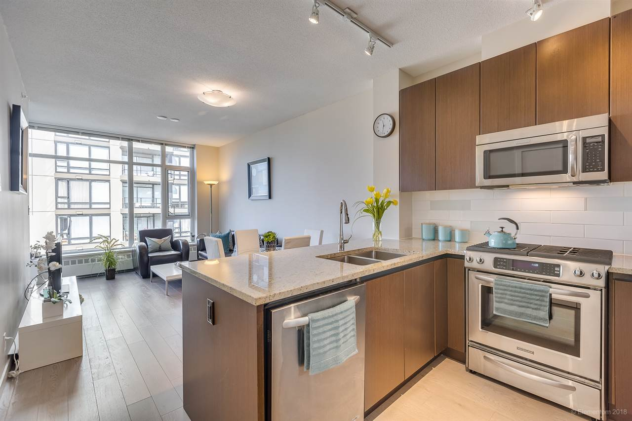 505 135 W 2ND STREET - Lower Lonsdale Apartment/Condo for sale, 1 Bedroom (R2410520) - #2