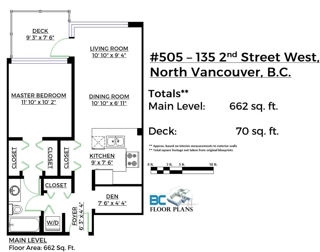 505 135 W 2ND STREET - Lower Lonsdale Apartment/Condo for sale, 1 Bedroom (R2410520) - #20