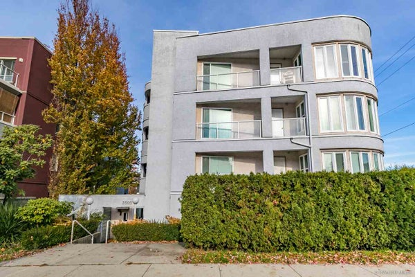 303 3505 W BROADWAY STREET - Kitsilano Apartment/Condo for sale, 1 Bedroom (R2418631)