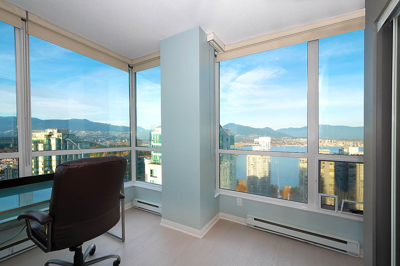 3008 1239 W GEORGIA STREET - Coal Harbour Apartment/Condo for sale, 3 Bedrooms (R2418715) - #17
