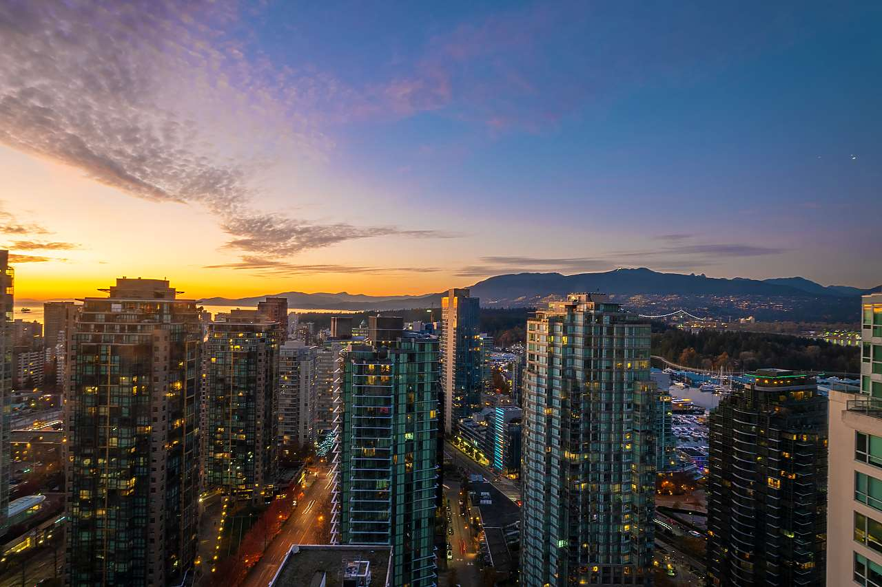 3008 1239 W GEORGIA STREET - Coal Harbour Apartment/Condo for sale, 3 Bedrooms (R2418715) - #8