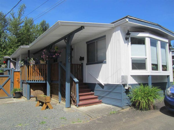 27 32830 LOUGHEED HIGHWAY - Mission BC Manufactured for sale, 2 Bedrooms (R2419167)
