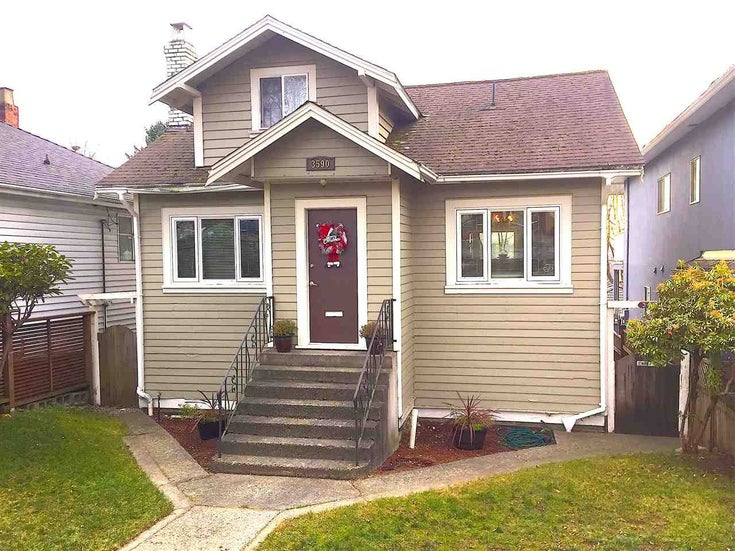 3590 E PENDER STREET - Renfrew VE House/Single Family for sale, 3 Bedrooms (R2421526)