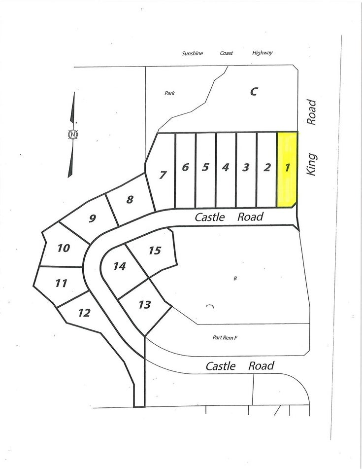 LOT 1 CASTLE ROAD - Gibsons & Area for sale(R2422339)