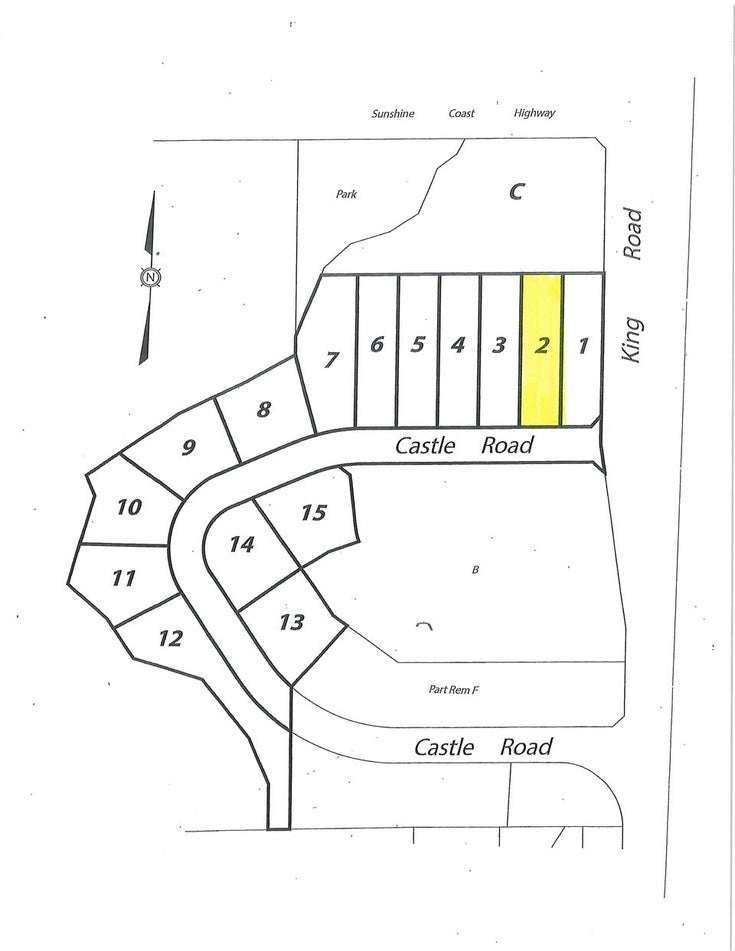 LOT 2 CASTLE ROAD - Gibsons & Area for sale(R2422341)