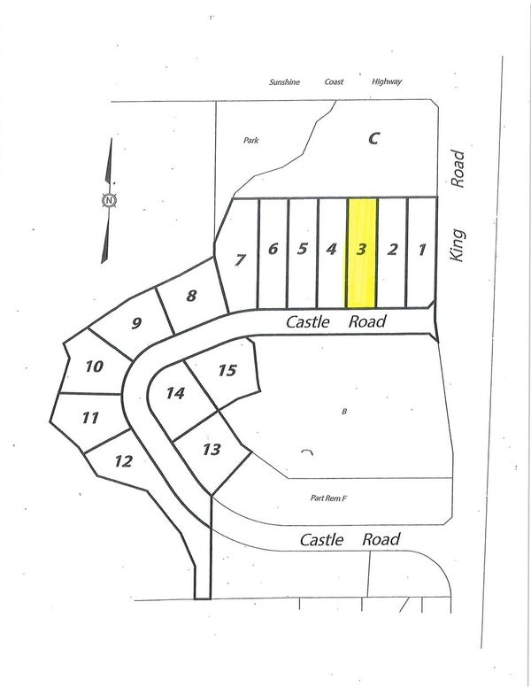 LOT 3 CASTLE ROAD - Gibsons & Area  for sale(R2422349)