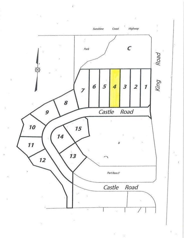 LOT 4 CASTLE ROAD - Gibsons & Area for sale(R2422354)