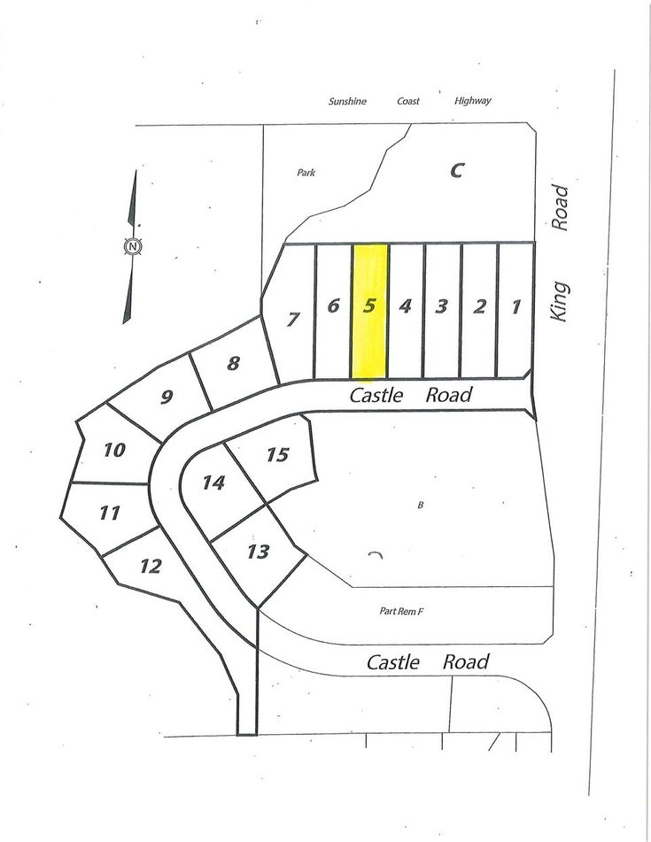 LOT 5 CASTLE ROAD - Gibsons & Area for sale(R2422363)