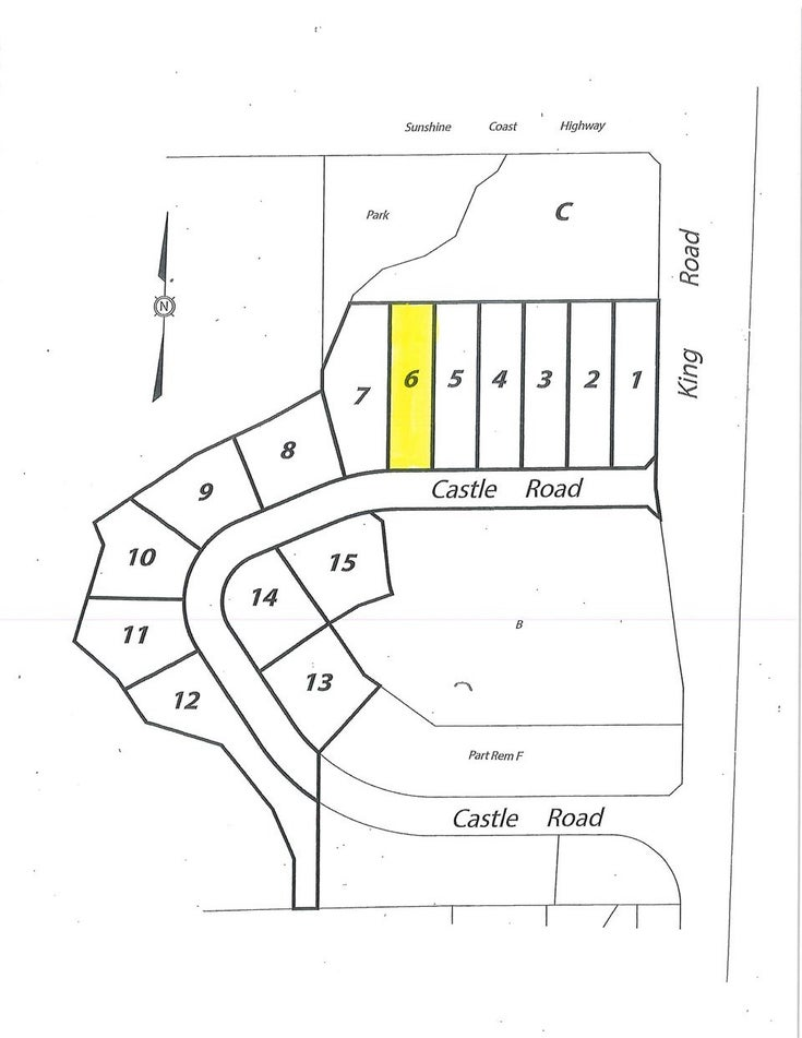 LOT 6 CASTLE ROAD - Gibsons & Area for sale(R2422368)