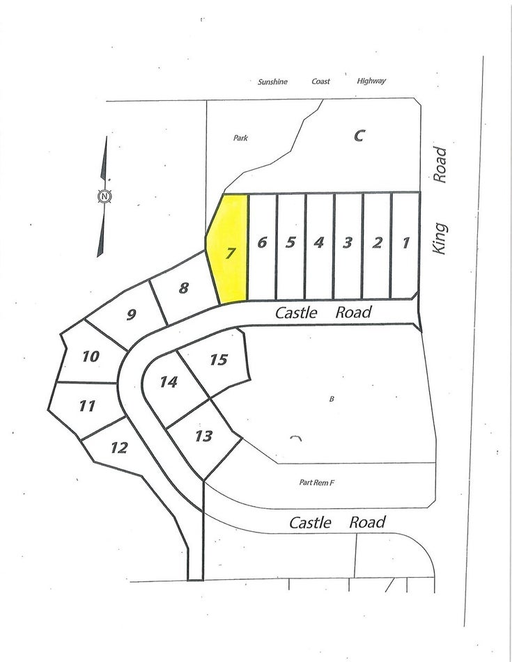 LOT 7 CASTLE ROAD - Gibsons & Area for sale(R2422388)