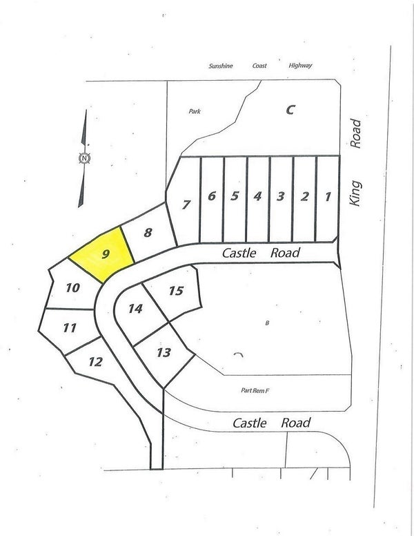 LOT 9 CASTLE ROAD - Gibsons & Area  for sale(R2422418)