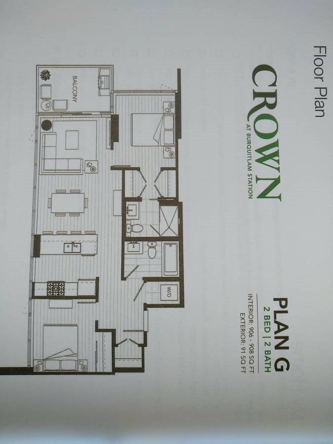 2102 520 COMO LAKE AVENUE - Coquitlam West Apartment/Condo for sale, 2 Bedrooms (R2422498) - #6