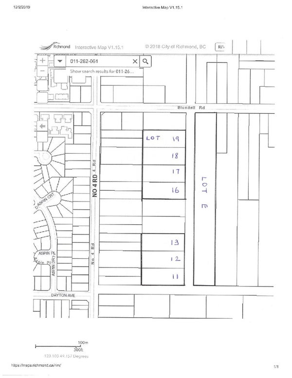 LOT 18 BLUNDELL ROAD - McLennan  for sale(R2423533)