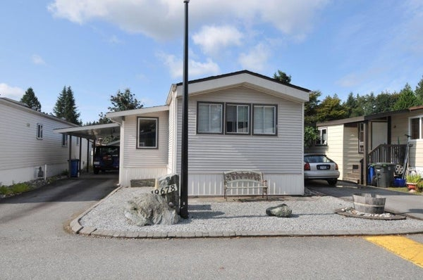 131 19678 POPLAR DRIVE - Central Meadows Manufactured for sale, 2 Bedrooms (R2425720)