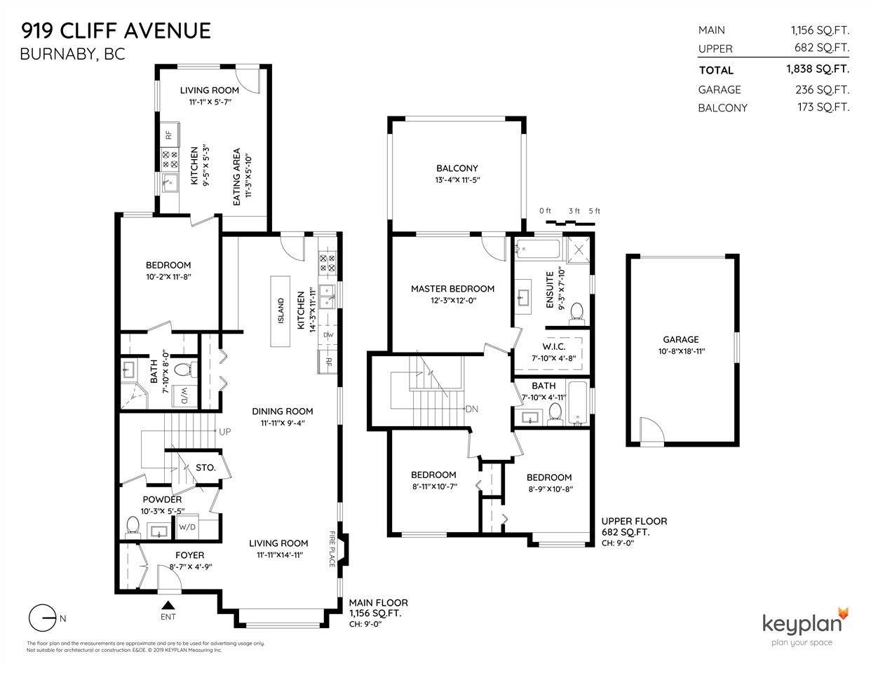919 CLIFF AVENUE - Sperling-Duthie 1/2 Duplex for sale, 4 Bedrooms (R2428670) - #20