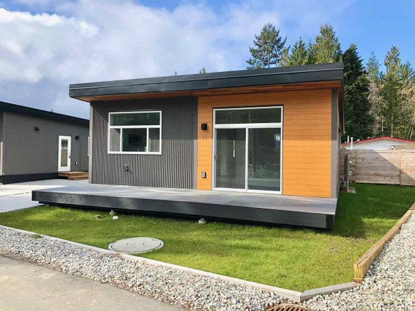 77 4496 SUNSHINE COAST HIGHWAY - Sechelt District Manufactured for sale, 2 Bedrooms (R2429329)