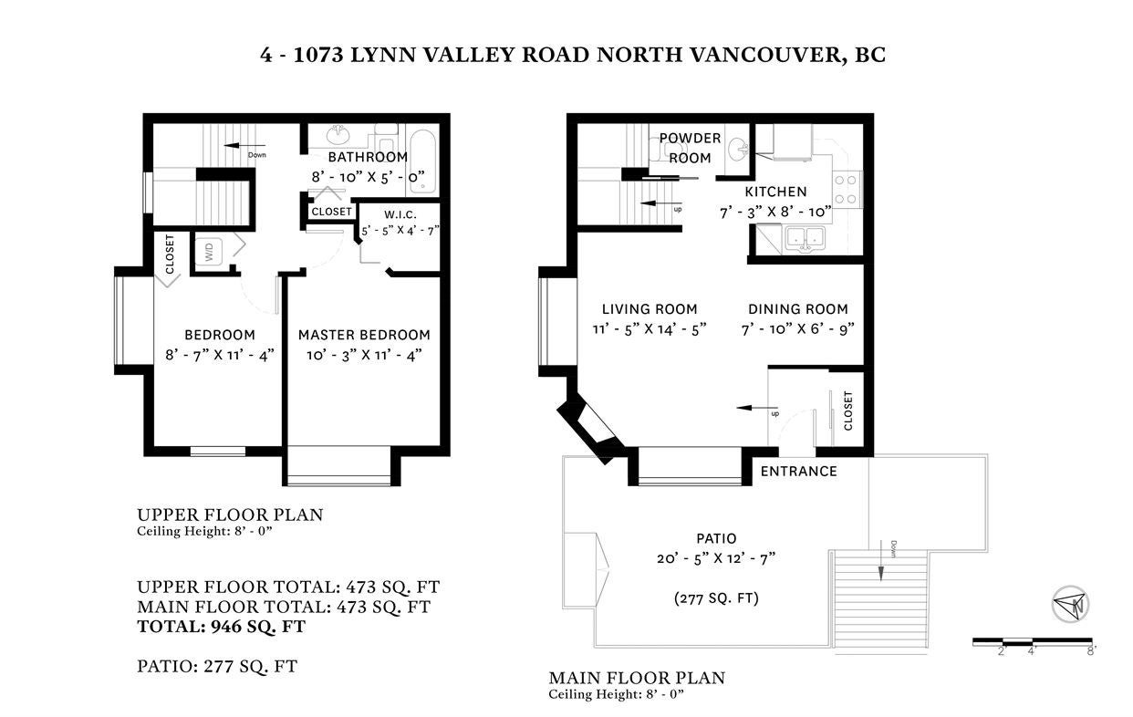 4 1073 LYNN VALLEY ROAD - Lynn Valley Townhouse for sale, 2 Bedrooms (R2435814) - #17