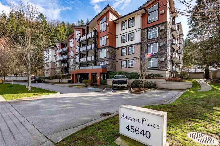 312 45640 ALMA AVENUE - Vedder S Watson-Promontory Apartment/Condo for sale, 1 Bedroom (R2437025)