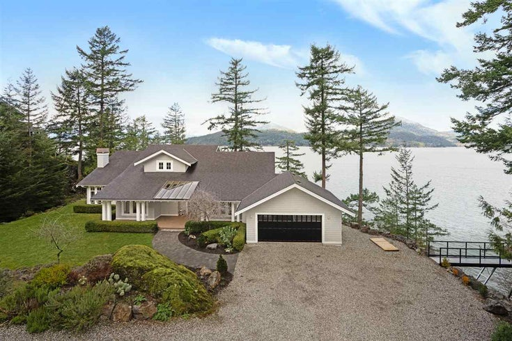 510 SMUGGLERS COVE ROAD - Bowen Island House with Acreage for sale, 3 Bedrooms (R2437297)