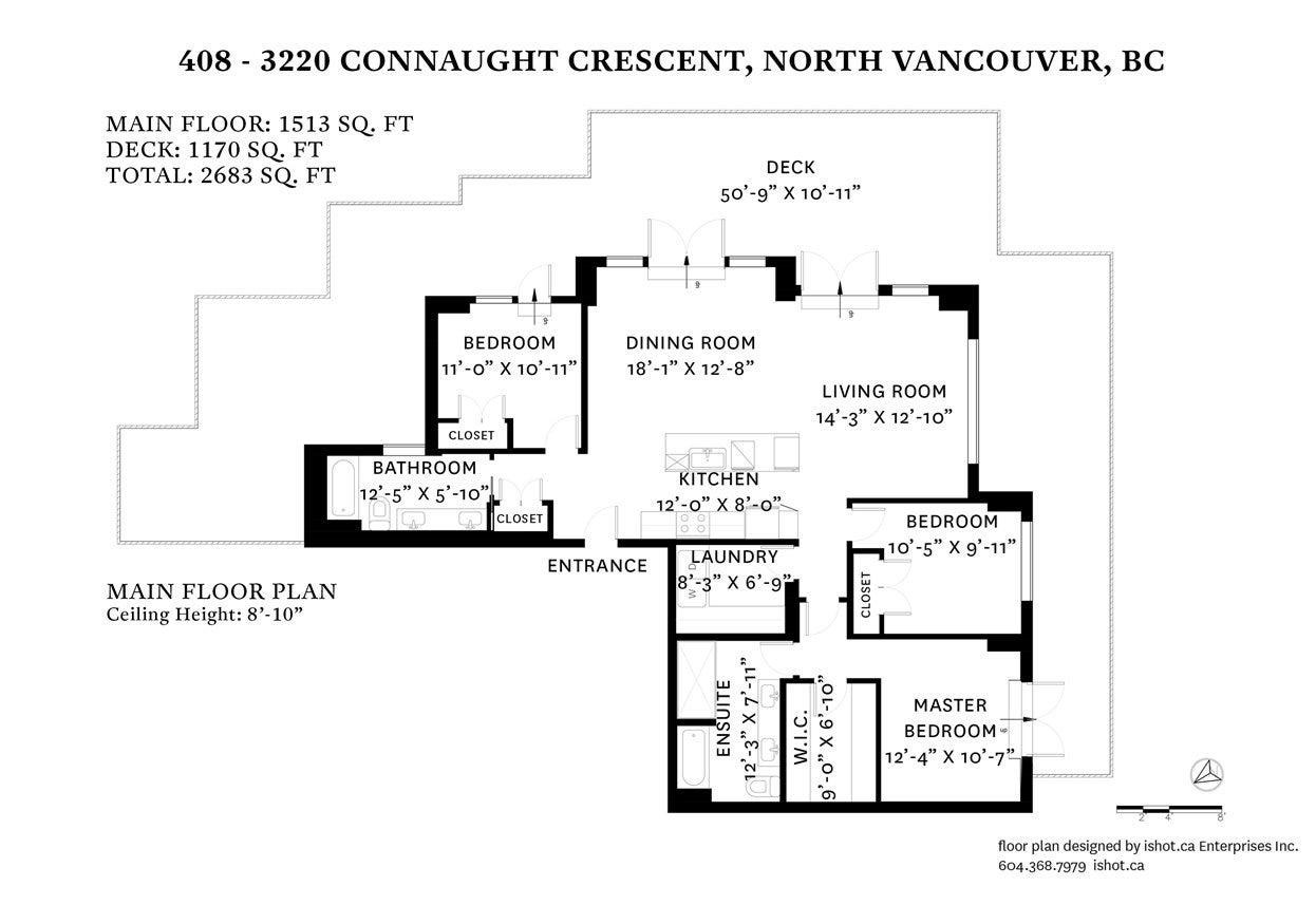 408 3220 CONNAUGHT CRESCENT - Edgemont Apartment/Condo for sale, 3 Bedrooms (R2442276) - #20