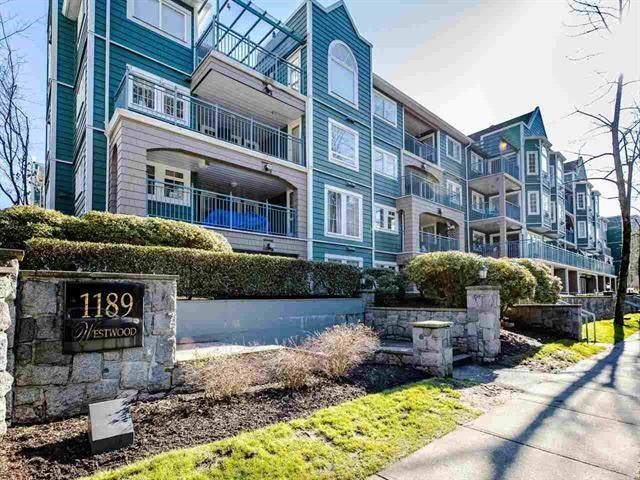 410 1189 WESTWOOD STREET - North Coquitlam Apartment/Condo for sale, 2 Bedrooms (R2442321)