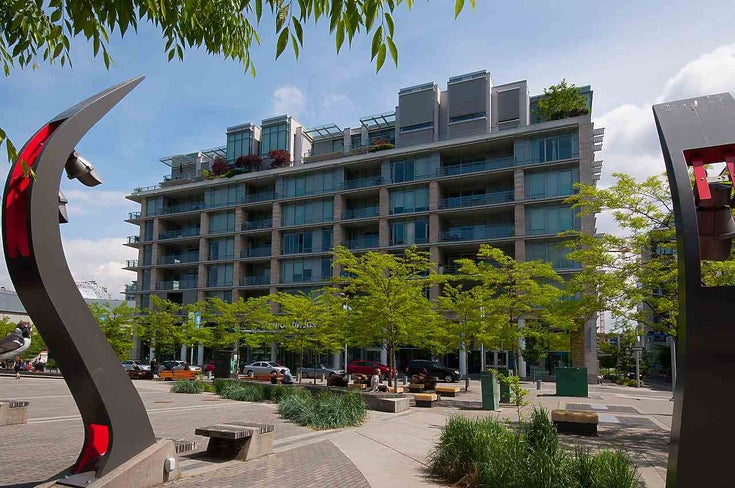 601 77 WALTER HARDWICK AVENUE - False Creek Apartment/Condo for sale, 2 Bedrooms (R2443012)