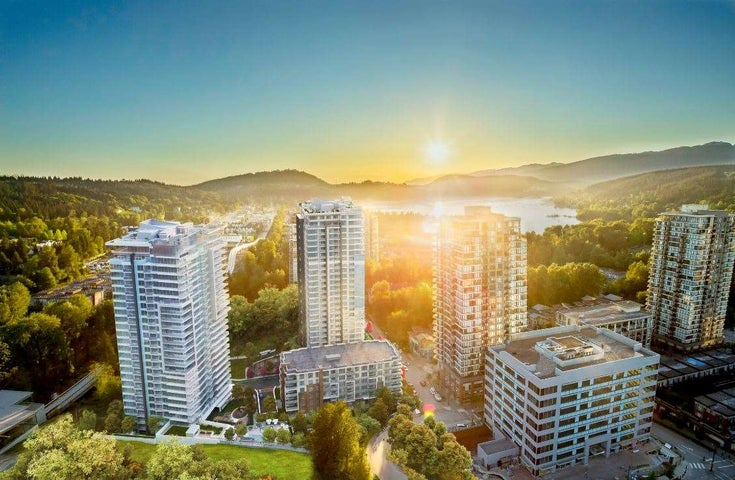 2502 300 MORRISSEY ROAD - Port Moody Centre Apartment/Condo for sale, 3 Bedrooms (R2443914)