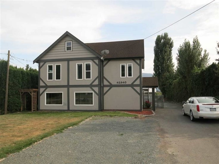 42940 ADAMS ROAD - Greendale Chilliwack House with Acreage for sale, 4 Bedrooms (R2444891)