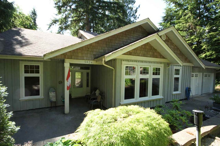 5674 UPLAND ROAD - Sechelt District House/Single Family for sale, 3 Bedrooms (R2444994)