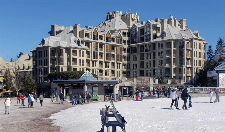 719 4320 SUNDIAL PLACE - Whistler Village Apartment/Condo for sale, 1 Bedroom (R2445490)