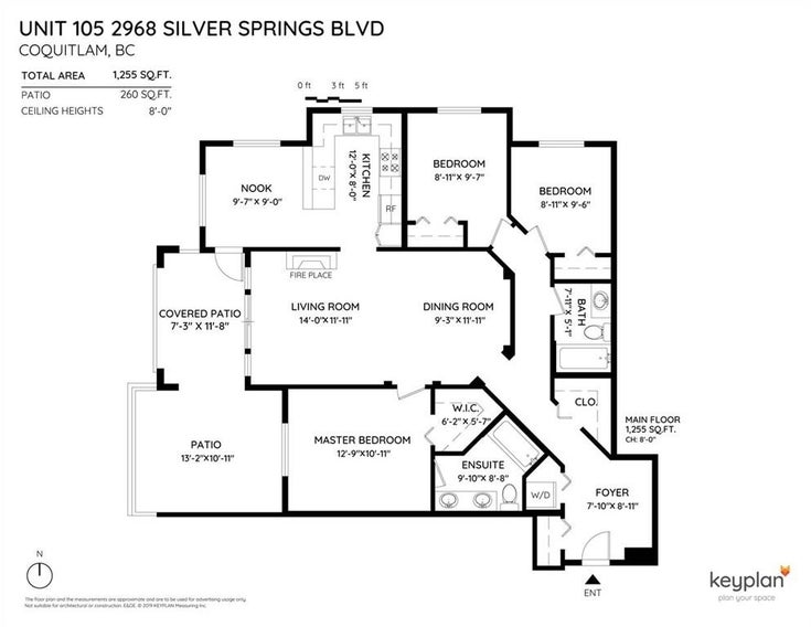 105 2968 SILVER SPRINGS BOULEVARD - Westwood Plateau Apartment/Condo for sale, 3 Bedrooms (R2446676)