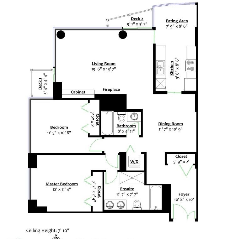 606 1500 HORNBY STREET - Yaletown Apartment/Condo for sale, 2 Bedrooms (R2447198) - #19