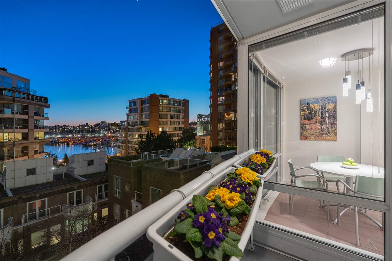 606 1500 HORNBY STREET - Yaletown Apartment/Condo for sale, 2 Bedrooms (R2447198) - #7
