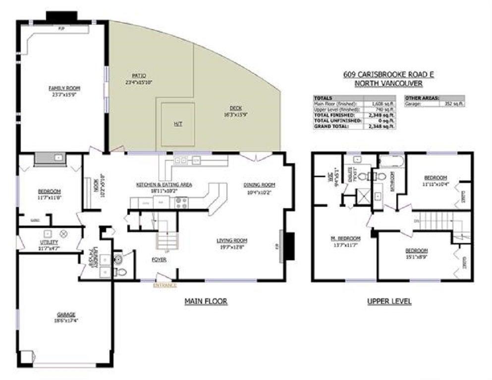 609 E CARISBROOKE ROAD - Princess Park House/Single Family for sale, 4 Bedrooms (R2447426) - #20