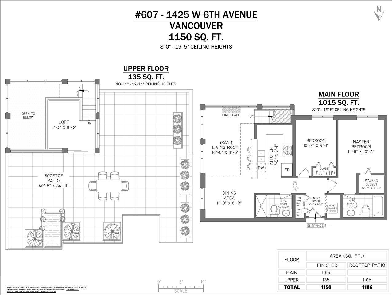 607 1425 W 6TH AVENUE - False Creek Apartment/Condo for sale, 2 Bedrooms (R2447494) - #20